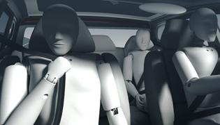 Avviso cinture di sicurezza - SBR