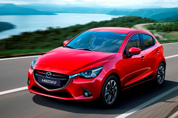 Official Mazda 2 2015 safety rating