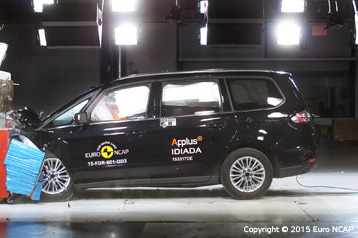 Official Ford S MAX 2015 Safety Rating