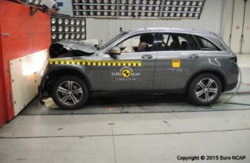 Official Mercedes-Benz GLC 2015 safety rating
