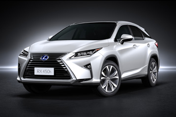 Official Lexus RX 2015 safety rating