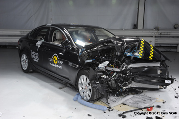 Smart Car Rear End Crash Test