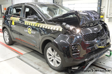 Official Kia Sportage 2017 Safety Rating