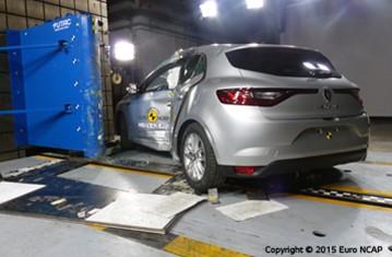 Official Renault Megane 2015 safety rating