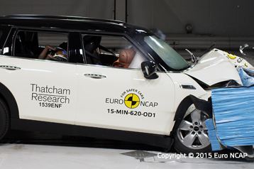 Official Mini Clubman 2015 Safety Rating