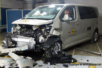 Official Peugeot Traveller 2015 Safety Rating