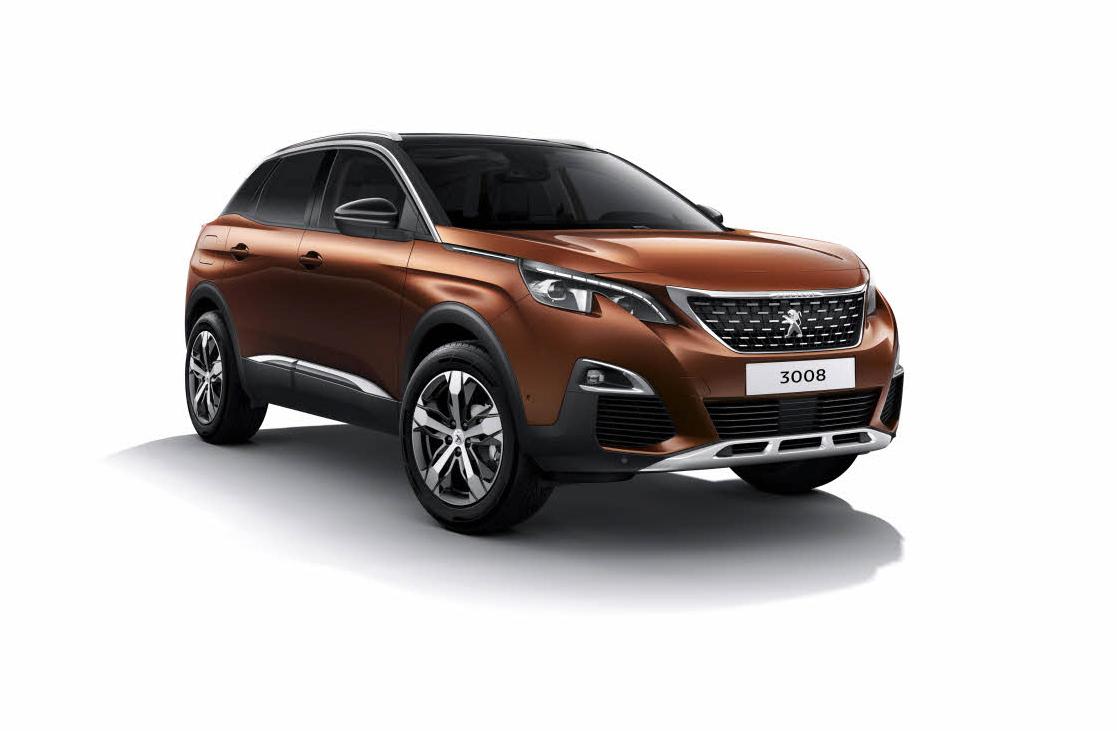 Peugeot 3008 new 2018