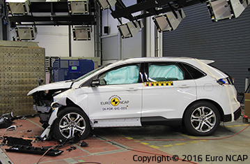 Official Ford Edge 2016 safety rating