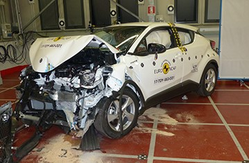 Official Toyota C-HR safety rating