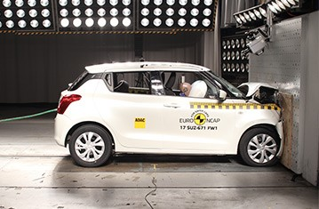 Official Suzuki Swift 2017 safety rating