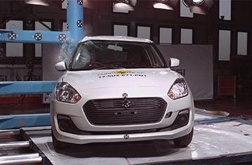 Official Suzuki Swift 2017 safety rating