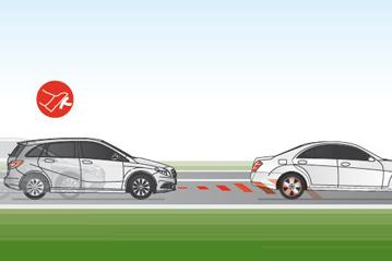 Euro Ncap Sonderauszeichnungen Autonomes Notbremssystem Mercedes Benz Collision Prevention Ist 2017