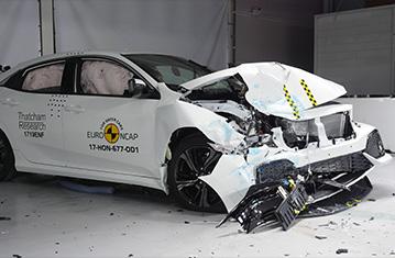 Resmi Honda Civic Güvenli Derecelendirme Sonuçları