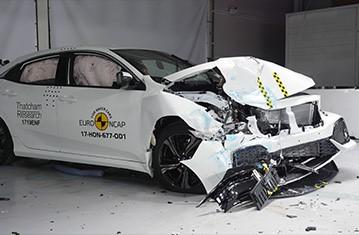 Official Honda Civic safety rating