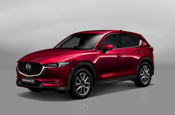 Official Mazda CX-5 safety rating