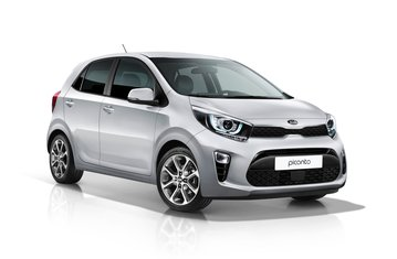 official kia picanto safety rating
