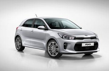 official kia rio full safety package safety rating