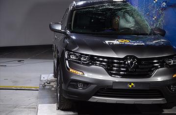 официальные результаты оценки уровня безопасности Renault Koleos