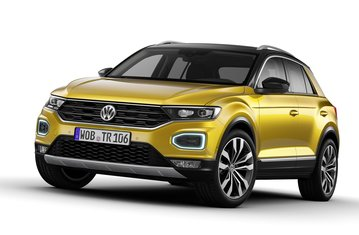 official vw t roc safety rating. Black Bedroom Furniture Sets. Home Design Ideas
