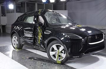 Official Jaguar E-Pace safety rating