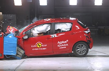 Official Toyota Yaris safety rating