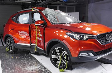 Official Mg Zs Safety Rating
