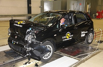 Official Fiat Punto safety rating