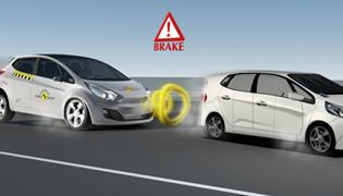AEB 车对车防碰撞