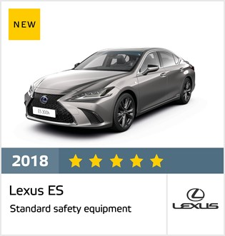 Lexus ES - results October 2018