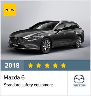 Mazda 6 - results October 2018