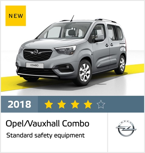 Opel/Vauxhall Combo - results October 2018