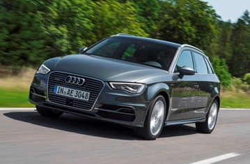 Official Audi A3 Sportback e-tron 2014 safety rating results