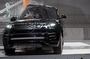 Range Rover Vs Land Rover >> Official Range Rover Evoque 2019 Safety Rating