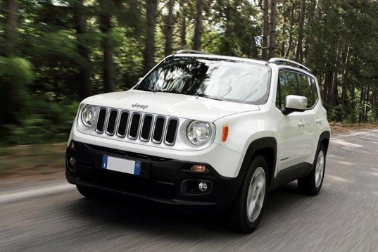 Official Jeep Renegade 2014 safety rating results