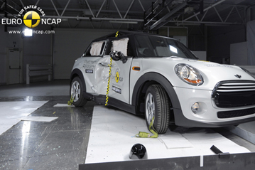 Official Mini Cooper 2014 Safety Rating Results