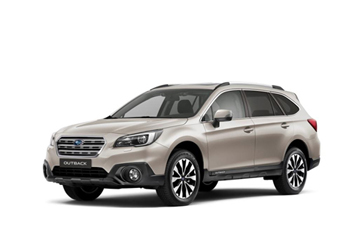 Official Subaru Outback 2014 safety rating results