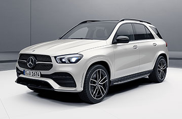 Official Mercedes-Benz GLE 2019 safety rating