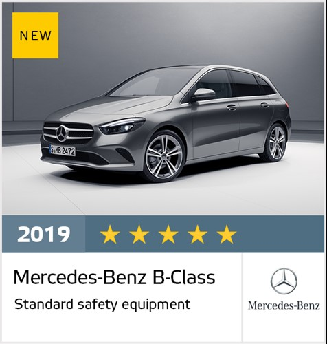 Mercedes-Benz B-Class - Euro NCAP Results July 2019