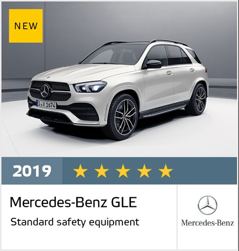 Mercedes-Benz GLE - Euro NCAP Results July 2019