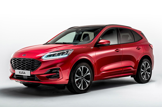 Official Ford Kuga 2019 Safety Rating