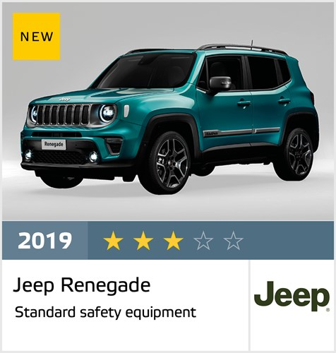 Jeep Renegade - Euro NCAP Results December 2019 - 3 stars