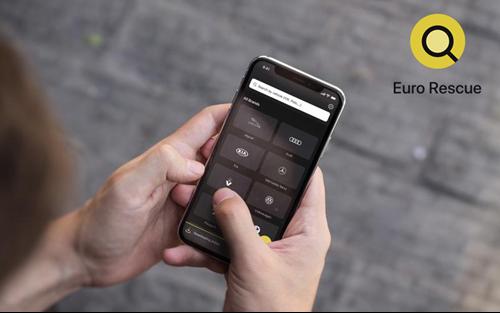Euro Rescue mobile app