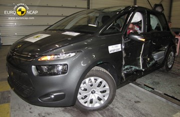 Official Citroën C4 Picasso 2013 safety rating results