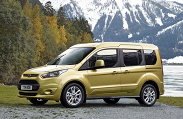 Official Ford Tourneo Connect 2013 Safety Rating Results