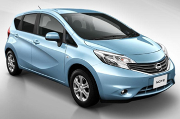 Official Nissan Note 2013 safety rating results