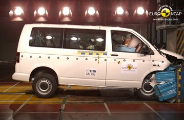 Official VW T5 2013 safety rating results