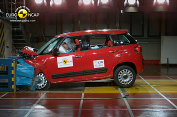 Official Fiat 500L 2012 safety rating results