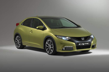 Official Honda Civic 2012 safety rating results