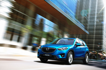 3632a80177 Official Mazda CX-5 2012 safety rating results