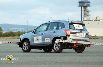 Official Subaru Forester 2012 safety rating results